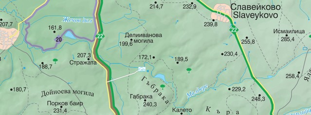 Веломаршрут Екоцентър Румика – Лалково